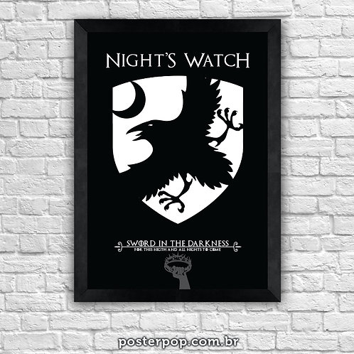 Poster Game Of Thrones - Nigth´s Watch
