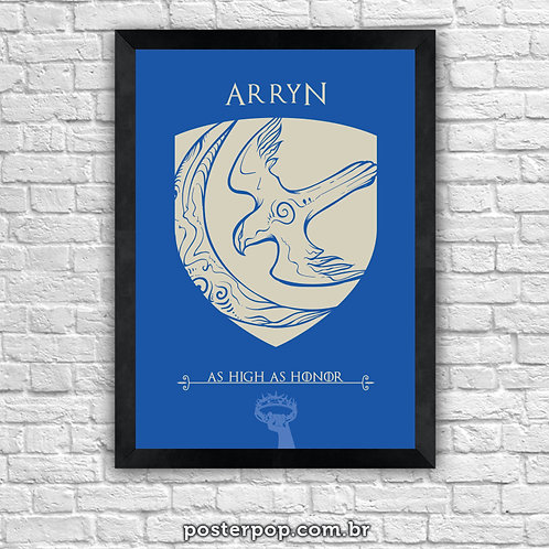 Poster Game Of Thrones - Arryn House