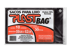 Plastili Saco de Lixo em Plast Bag 30L