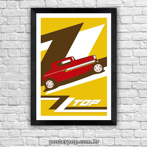 Poster ZZ Top - Gimme All Your Lovin'