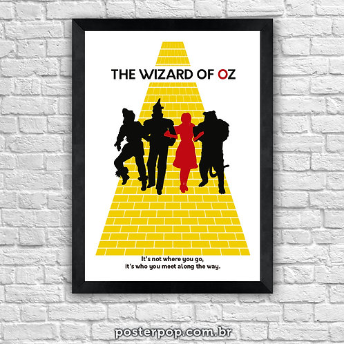 The Wizard Of Oz - Yellow brick road