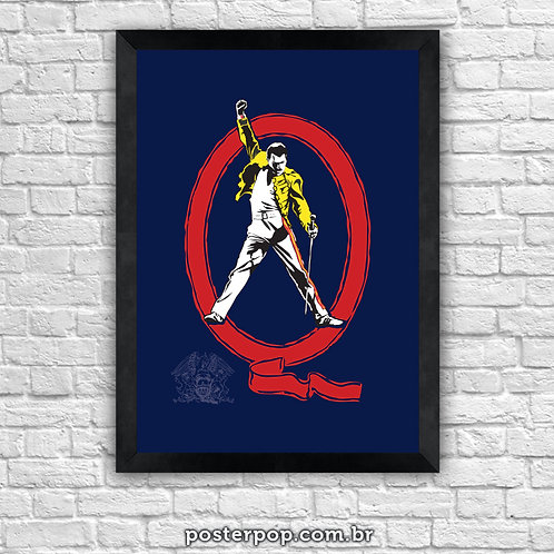 Poster Freddie Mercury Tribute Queen
