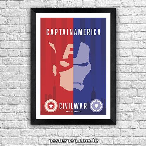 Poster Captain America - Civil War