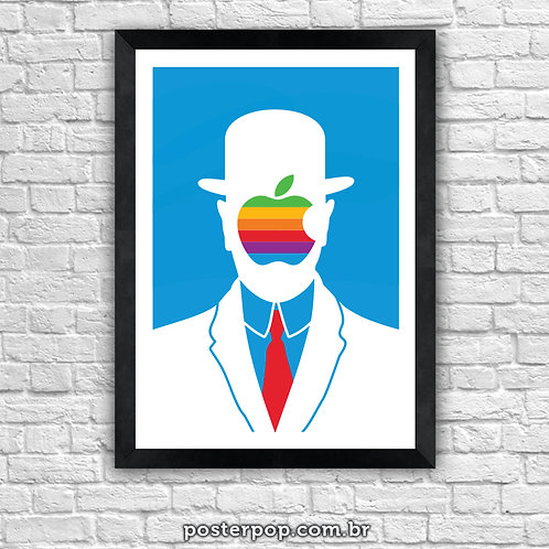 Poster Son of Apple Azul