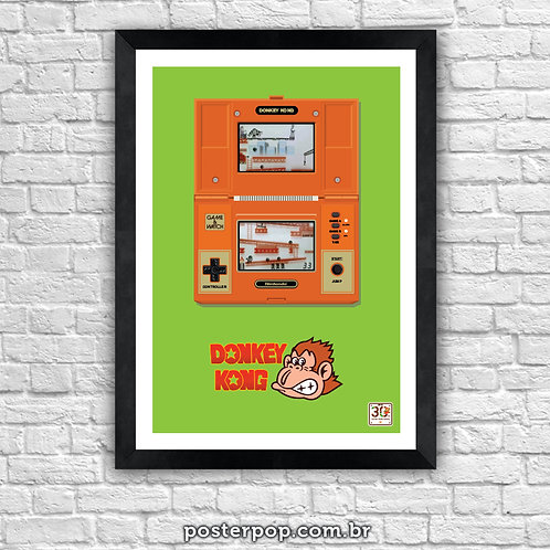 Poster Donkey Kong I - Game & Watch