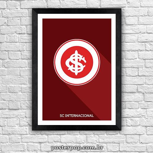 Poster Brasão Internacional Minimalista