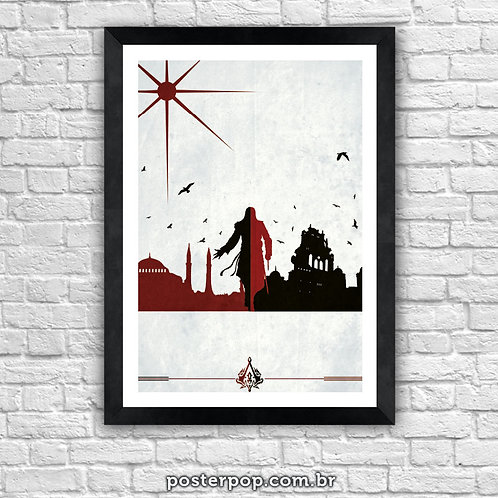 Poster Assassin's Creed Branco