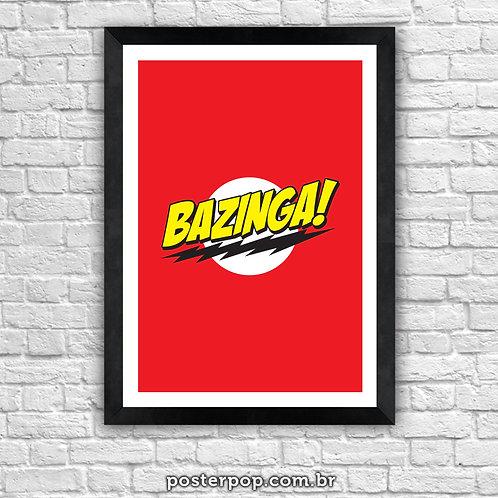 Poster Bazinga!  - The Big Bang Theory