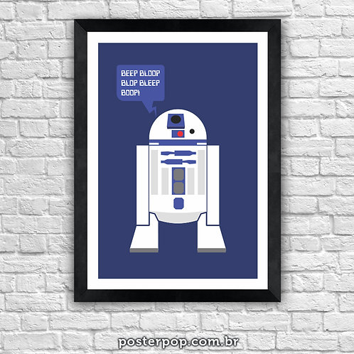 Poster Star Wars R2D2