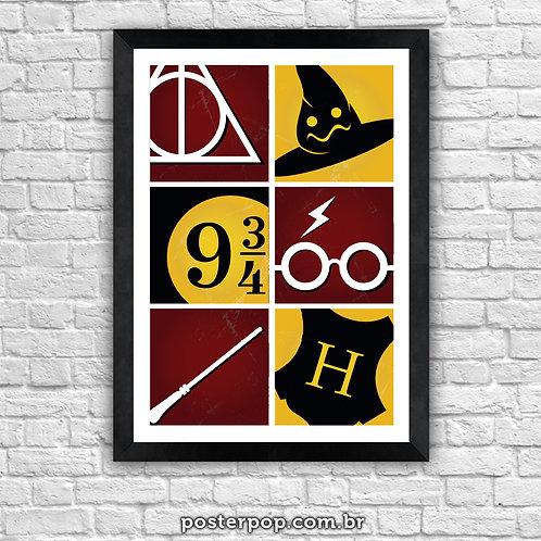 "Poster ""Harry Potter Trivia"""