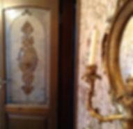 Стекло витражное для межкомнатных дверей