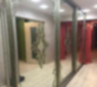 Зеркальные витражи для шкафов-купе