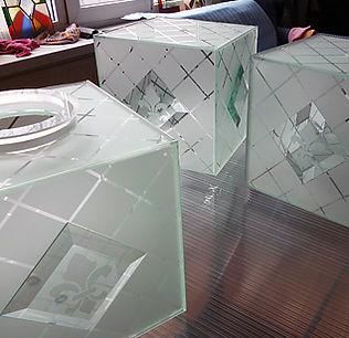 Художественное матирование стекла, пескоструйный рисунок