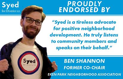 210326_SyedforDistrict12_Endorsement_Ben
