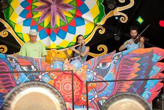 DJ Neerav, Ina Filip, Guillaume Duchesneau (Open Mind Festival).