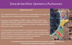 Infografía Contaminación Quintero y Puchuncaví