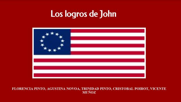 Los logros de John