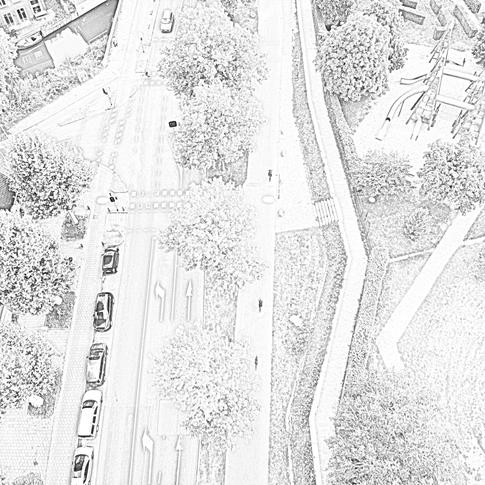 Blauwkapelseweg deel afslag A. Numanskade