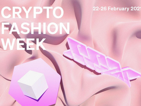 CRYPTO FASHION WEEK BRINGS THE FUTURE INTO THE PRESENT