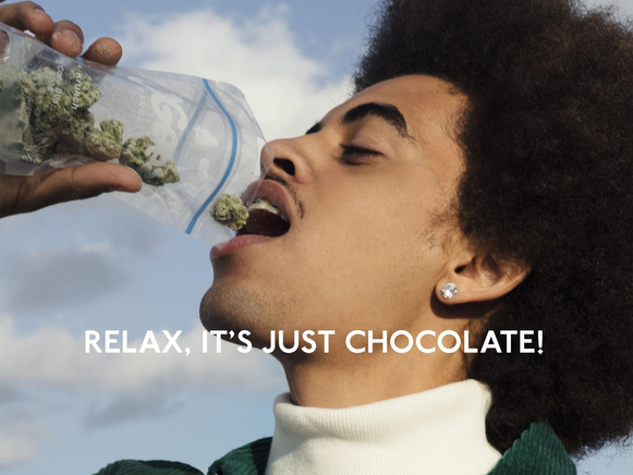 OGEEZ - RELAX, IT'S JUST CHOCOLATE!