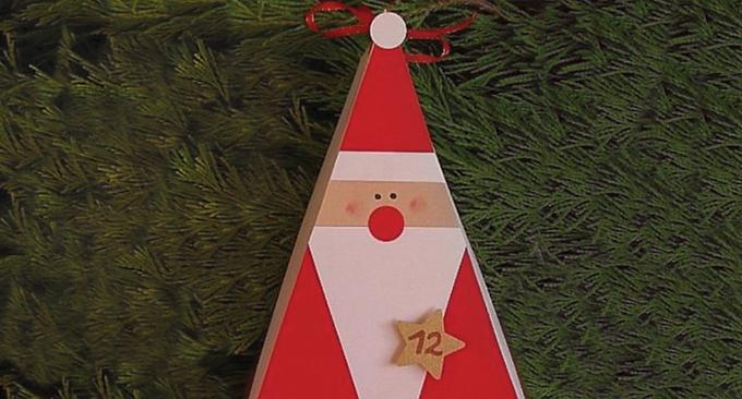 Holiday Art : Santa
