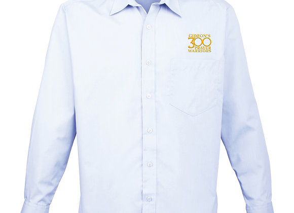Senior - Mens Premier Long Sleeve Poplin Shirt