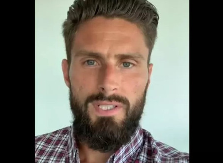Chelsea star Olivier Giroud does online Alpha course with friends