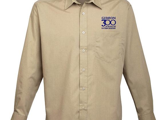 New Candidate - Mens Premier Long Sleeve Poplin Shirt