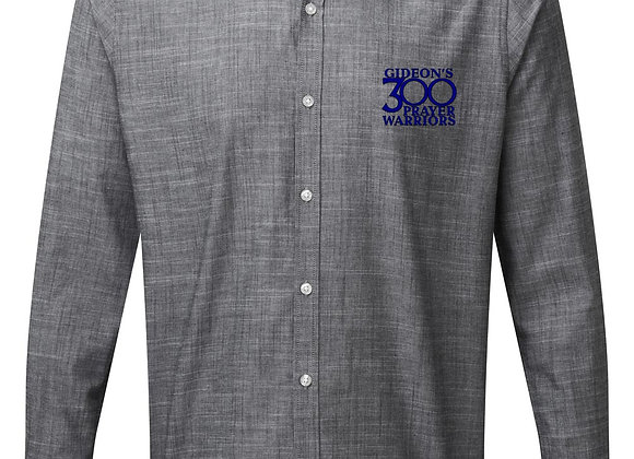 Senior - Mens Long Sleeve Chambray Shirt