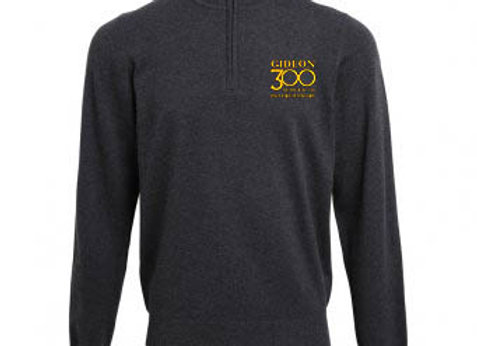 New Candidate - Mens Premier 1/4 Zip Neck Knitted Sweater