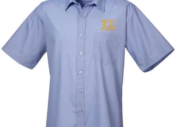 Senior - Mens Premier Short Sleeve Poplin Shirt
