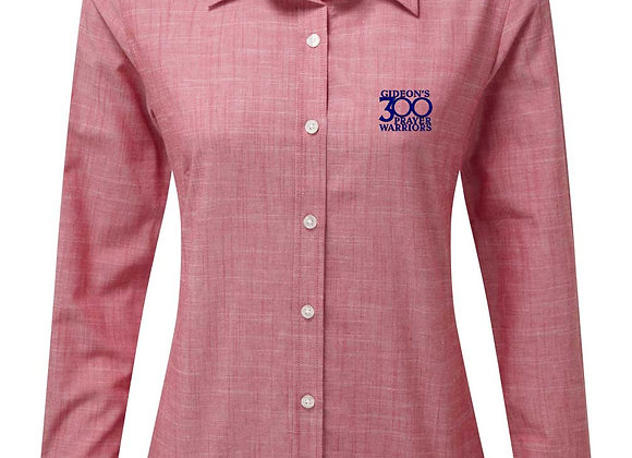 Senior - Ladies Long Sleeve Chambray Shirt