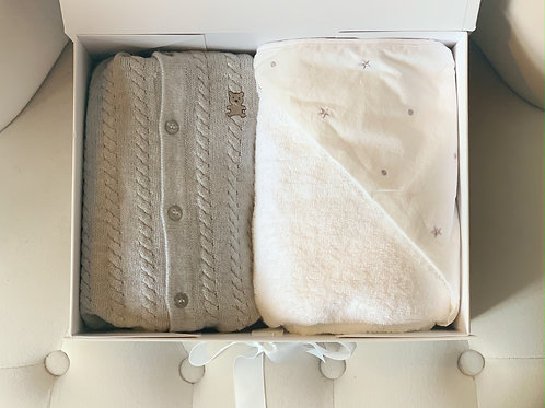 Grey & White Babybox