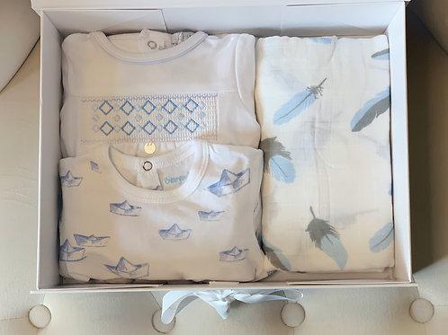 Blue & White Box
