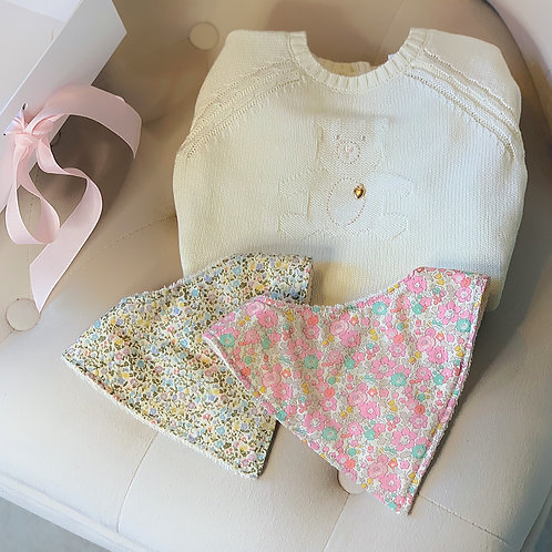 Liberty Accessories & Knitted Romper