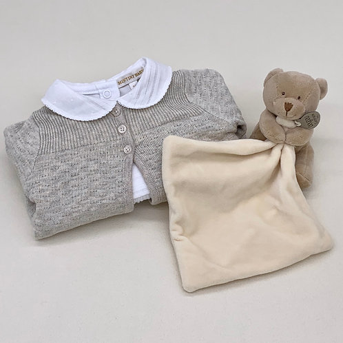 Girls Outfit and Soft Toy Gift Set