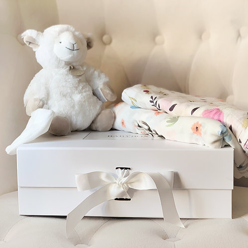 Soft Toy & Swaddle Gift Set