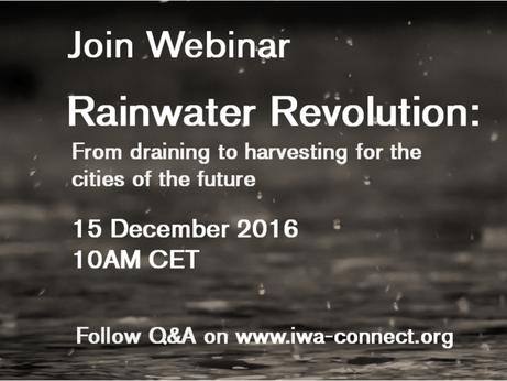 IWA Webinar: Rainwater Revolution