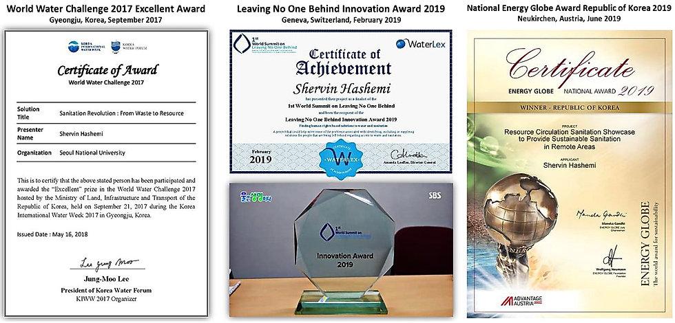 Awards for RCS