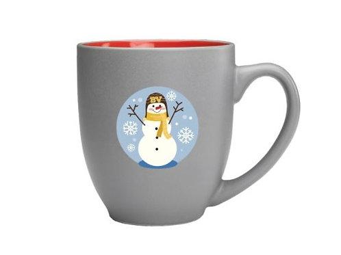 BV Snowman Mug w/Hot Chocolate Gift Set