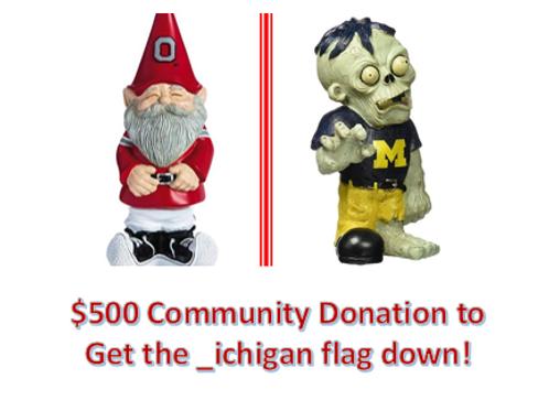 $500 Community Donation