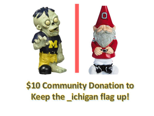 $10 Community Donation - _ichigan!