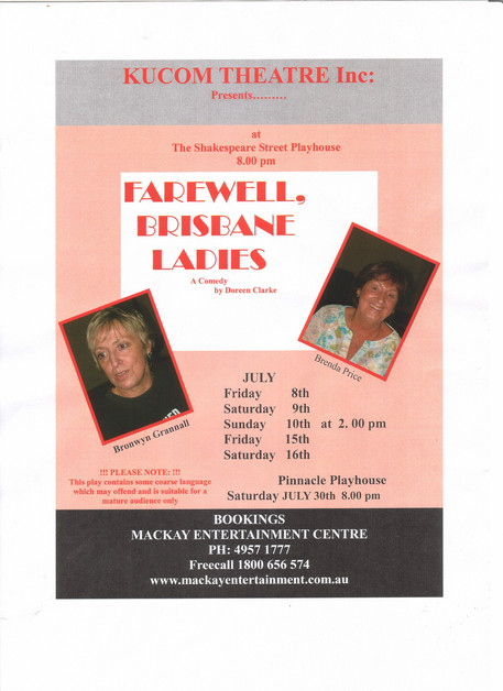 Farewell, Brisbane Ladies