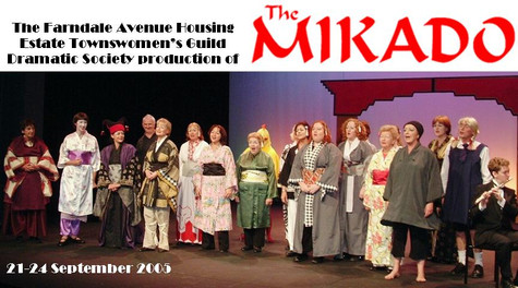 The Farndale Avenue Housing Estate Townswomen's Guild Amateur Dramatic Society Production of The Mikado