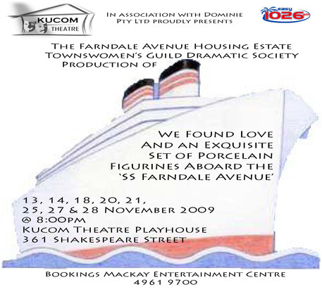 The Farndale Avenue Housing Estate Townswomen's Guild Amateur Dramatic Society Production of We Found Love and an Exquisite Set of Porcelain Figurines Aboard the SS Farndale Avenue