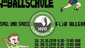 Neue Kindersport-Termine für Ballschule und Cunewalder Sport Kids!