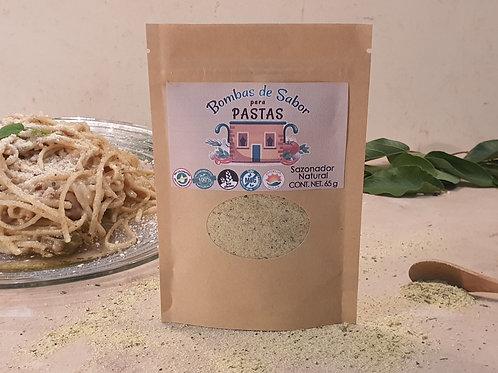 Sazonador para pasta empaque ecológico