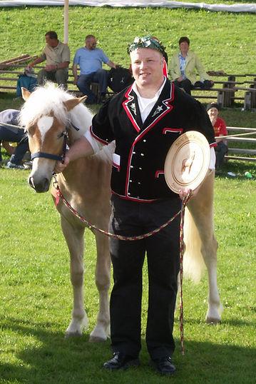 Guido stolzer Pferdegewinner