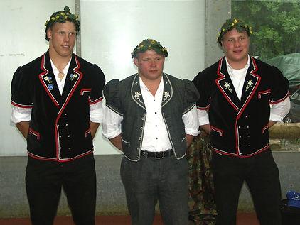 Siegertrio des Schwarzsee-Schwingets