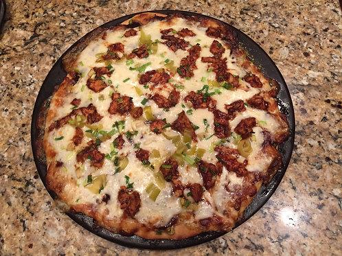 Whole Wheat Pizza Crust (1 Crust)